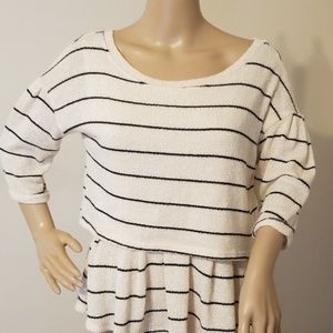 Anthropologie 9-H15 STCL Stripe Sweater